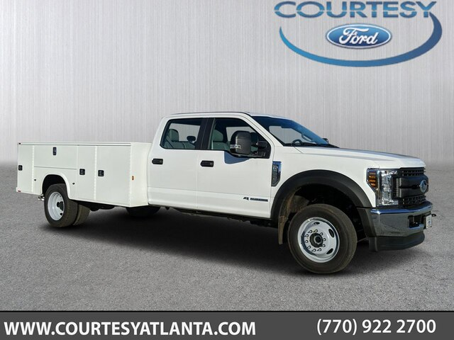 2019 F-550 Crew Cab DRW 4x4, Knapheide Service Body #19T2068 - photo 1