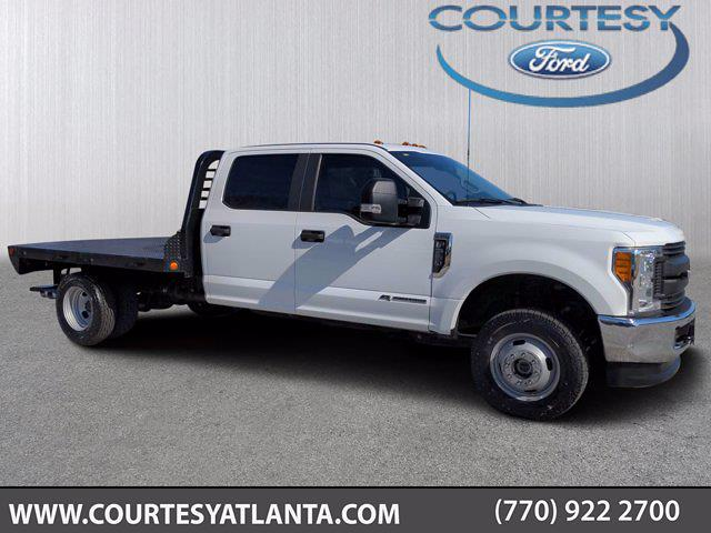 2017 Ford F-350 Crew Cab DRW 4x4, Freedom Platform Body #20T2225D - photo 1