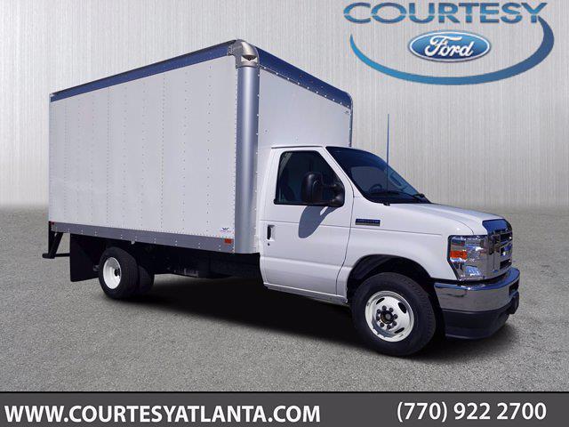 2021 Ford E-350 4x2, Smyrna Truck Cutaway Van #21T325 - photo 1