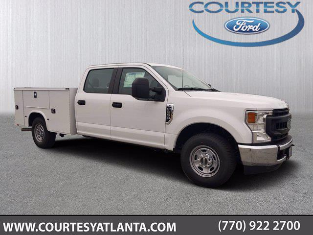 2021 Ford F-250 Crew Cab 4x2, Knapheide Service Body #21T387 - photo 1