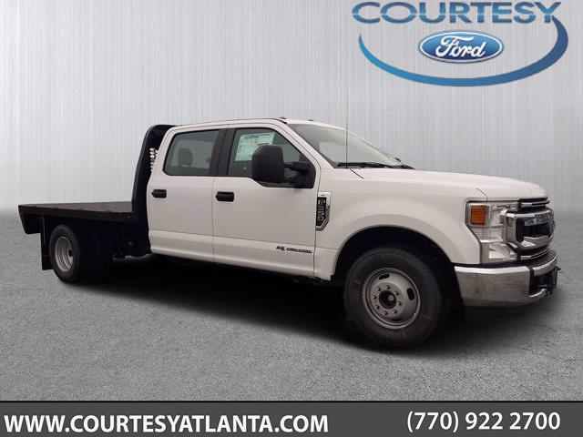 2021 Ford F-350 Crew Cab DRW 4x2, Knapheide Platform Body #21T422 - photo 1