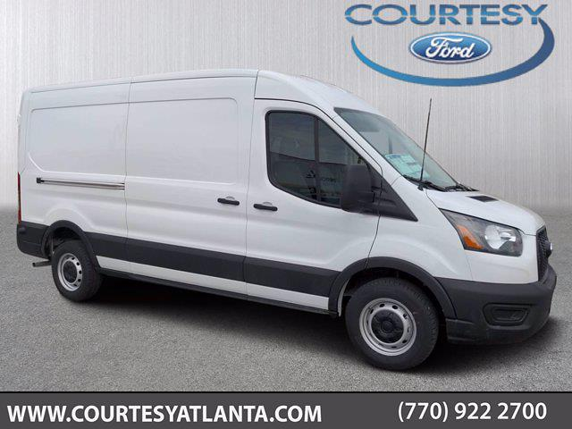 2021 Ford Transit 250 Medium Roof 4x2, Commercial Truck & Van Equipment Upfitted Cargo Van #21T480 - photo 1