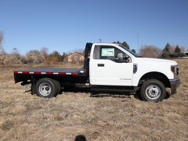 2019 F-350 Regular Cab DRW 4x4, CM Truck Beds Platform Body #FKDA14142 - photo 3