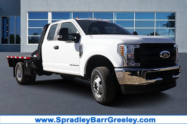 2019 F-350 Super Cab DRW 4x4, CM Truck Beds Platform Body #FKEF94166 - photo 1