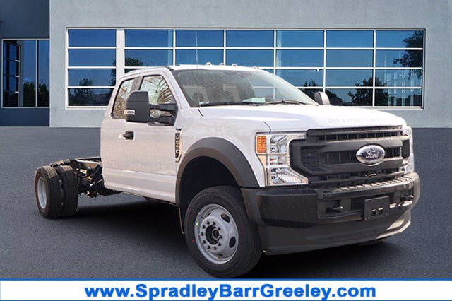 2020 Ford F-550 Super Cab DRW 4x4, Cab Chassis #FLEE87310 - photo 1