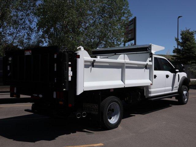 2019 Ford F-550 Crew Cab DRW 4x4, Monroe Dump Body #FKEG52372 - photo 1