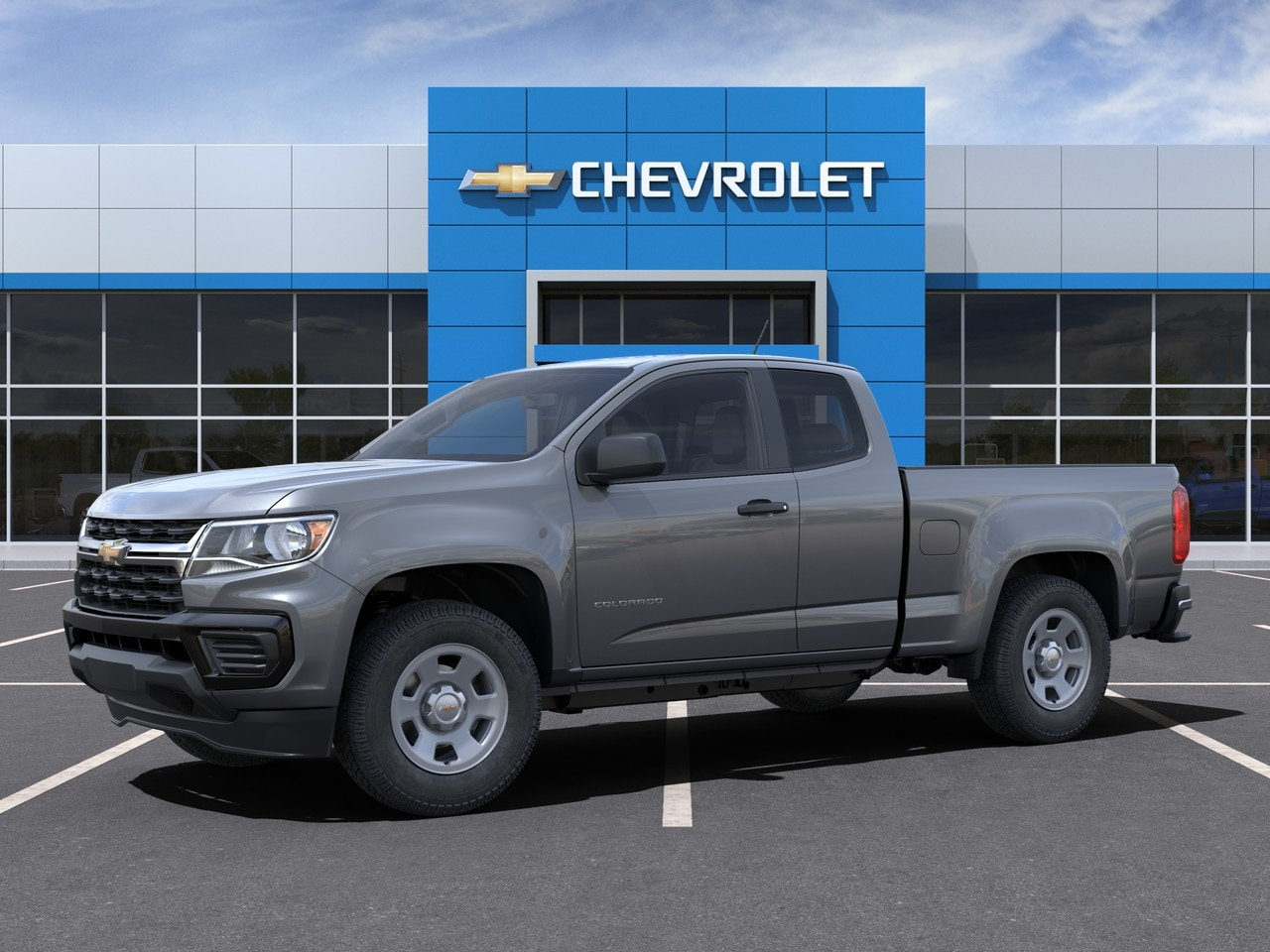2021 Chevrolet Colorado Extended Cab 4x2, Pickup #M1193360 - photo 1