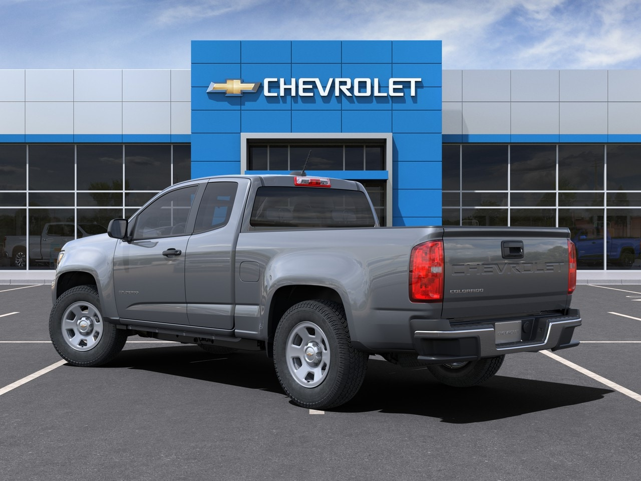 2021 Chevrolet Colorado Extended Cab 4x2, Pickup #M1193360 - photo 2
