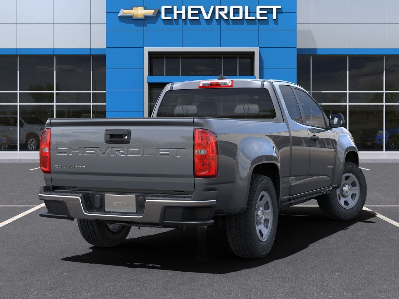 2021 Chevrolet Colorado Extended Cab 4x2, Pickup #M1193360 - photo 3