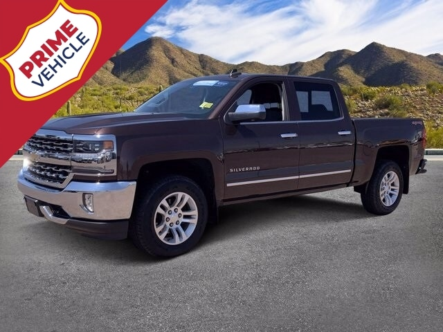 2016 Chevrolet Silverado 1500 Crew Cab 4x4, Pickup #C7781 - photo 1