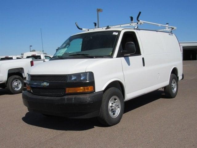 2018 Express 2500 4x2,  Masterack General Service Upfitted Cargo Van #J1191387 - photo 5