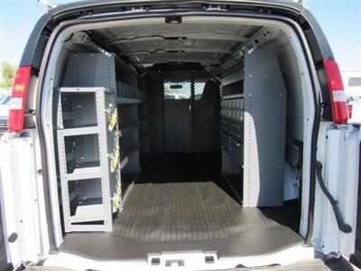 2018 Express 2500 4x2,  Masterack General Service Upfitted Cargo Van #J1191387 - photo 2