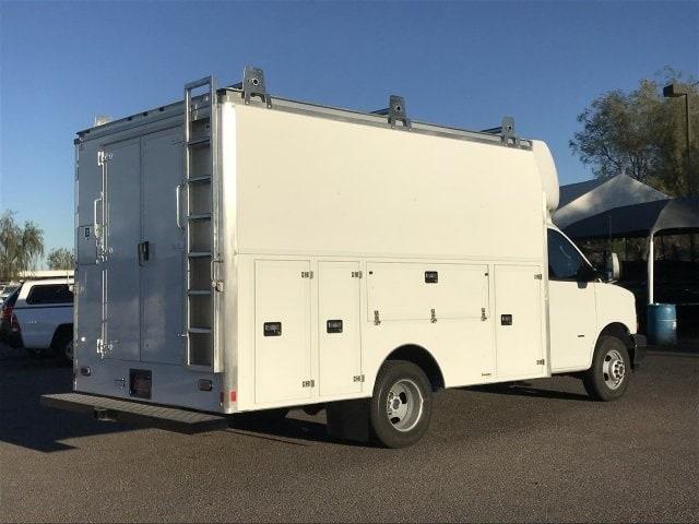 2018 Express 3500 4x2,  Supreme Spartan Service Utility Van #J1293028 - photo 4