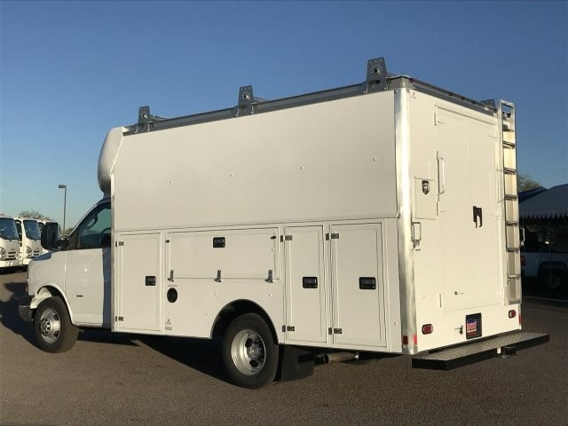 2018 Express 3500 4x2,  Supreme Spartan Service Utility Van #J1293028 - photo 2