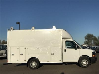 2018 Express 3500 4x2,  Supreme Spartan Service Utility Van #J1293028 - photo 3