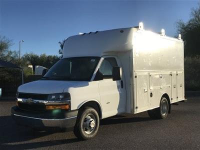 2018 Express 3500 4x2,  Supreme Spartan Service Utility Van #J1293028 - photo 1