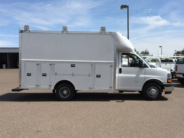 2018 Express 3500 4x2,  Supreme Spartan Service Utility Van #J1332984 - photo 6