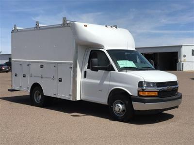 2018 Express 3500 4x2,  Supreme Spartan Service Utility Van #J1332984 - photo 3