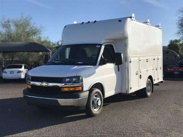 2018 Express 3500 4x2,  Supreme Service Utility Van #J1333315 - photo 1