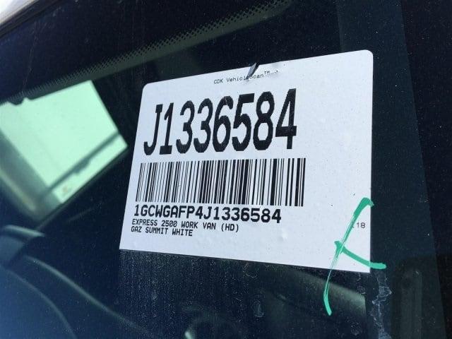 2018 Express 2500 4x2,  Masterack Upfitted Cargo Van #J1336584 - photo 26