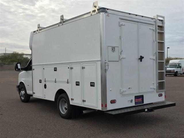 2018 Express 3500 4x2,  Supreme Spartan Service Utility Van #J1338568 - photo 2