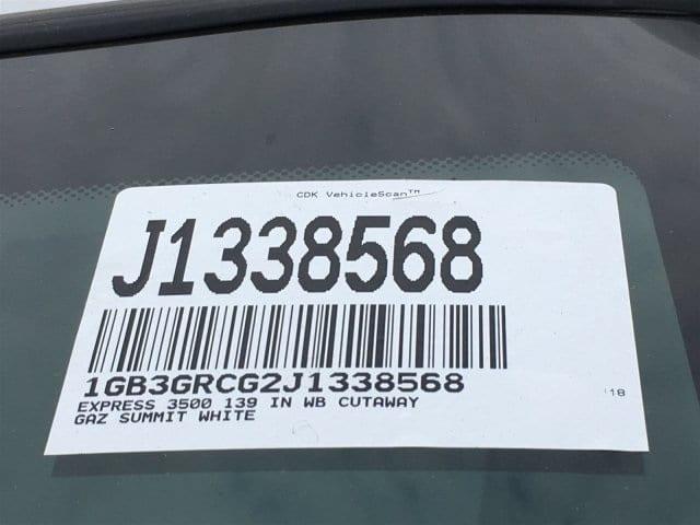 2018 Express 3500 4x2,  Supreme Spartan Service Utility Van #J1338568 - photo 20