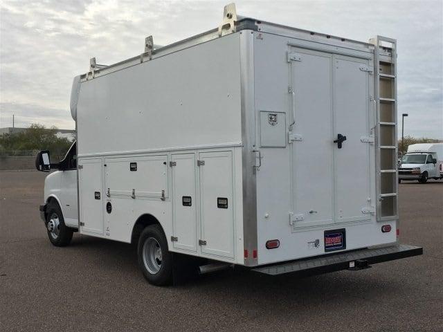 2018 Express 3500 4x2,  Supreme Spartan Service Utility Van #J1338568 - photo 5