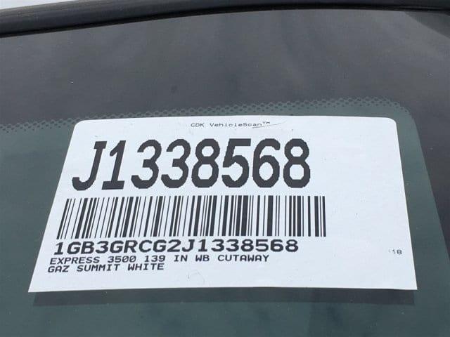 2018 Express 3500 4x2,  Supreme Spartan Service Utility Van #J1338568 - photo 21