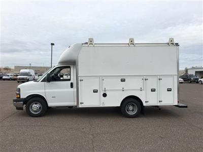 2018 Express 3500 4x2,  Supreme Spartan Service Utility Van #J1338568 - photo 3