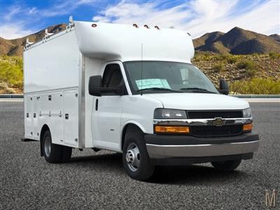 2018 Express 3500 4x2,  Supreme Spartan Service Utility Van #J1338568 - photo 1