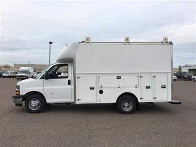 2018 Express 3500 4x2,  Supreme Spartan Service Utility Van #J1338568 - photo 4