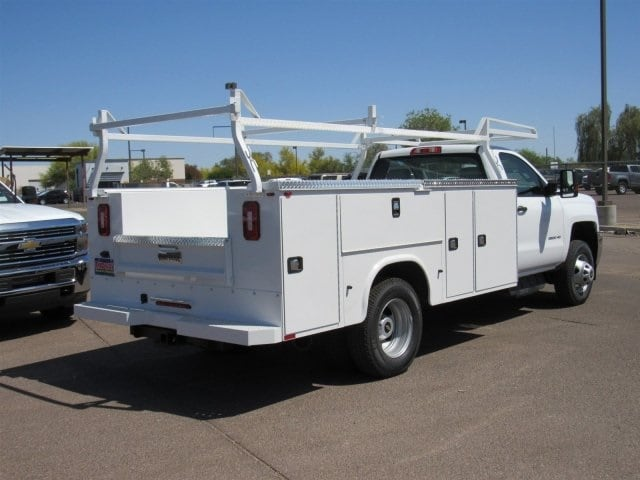 2018 Silverado 3500 Regular Cab DRW 4x2,  Knapheide Standard Service Body #JF132216 - photo 3