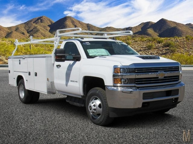 2018 Silverado 3500 Regular Cab DRW 4x2,  Knapheide Service Body #JF132216 - photo 1