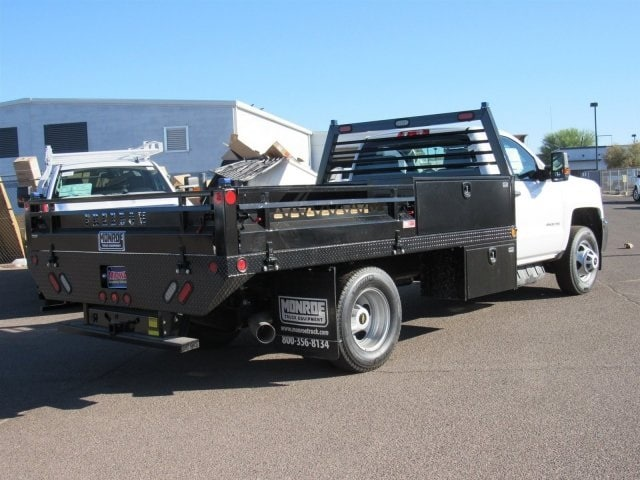 2018 Silverado 3500 Regular Cab DRW 4x2,  Freedom Contractor Body #JF233024 - photo 1