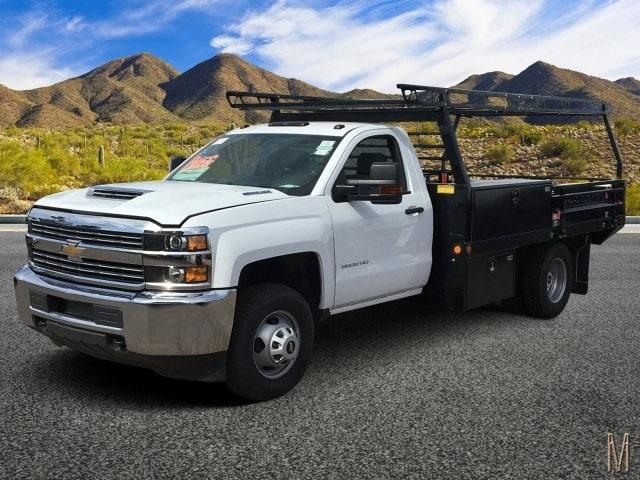 2018 Silverado 3500 Regular Cab DRW 4x2,  Freedom ProContractor Body #JF233024 - photo 1