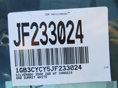 2018 Silverado 3500 Regular Cab DRW 4x2,  Freedom ProContractor Body #JF233024 - photo 15