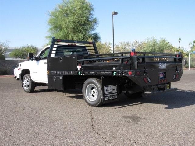 2018 Silverado 3500 Regular Cab DRW 4x2,  Freedom ProContractor Body #JF250288 - photo 2