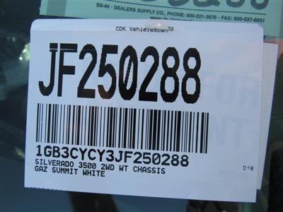 2018 Silverado 3500 Regular Cab DRW 4x2,  Freedom ProContractor Body #JF250288 - photo 18