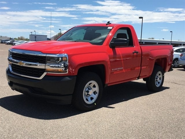 2018 Silverado 1500 Regular Cab 4x2,  Pickup #JZ376617 - photo 4