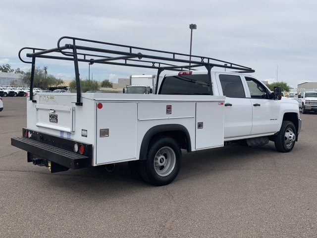 2018 Silverado 3500 Crew Cab DRW 4x2,  Service Body #K1191000A - photo 2
