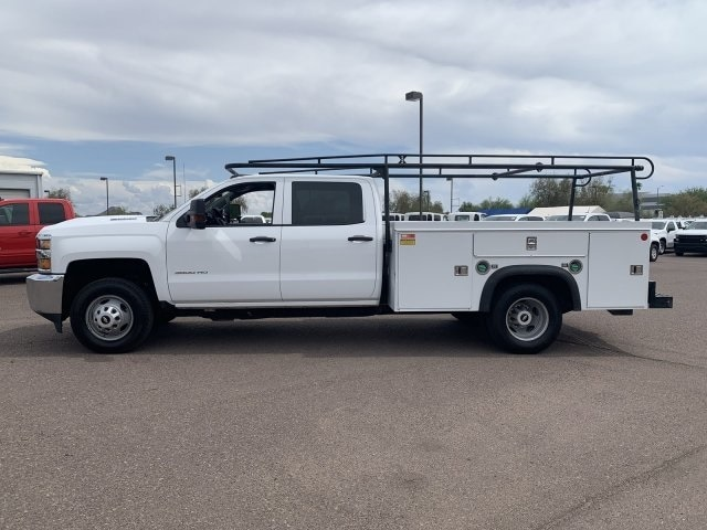 2018 Silverado 3500 Crew Cab DRW 4x2,  Service Body #K1191000A - photo 6
