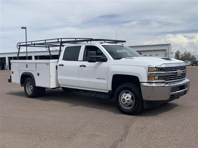 2018 Silverado 3500 Crew Cab DRW 4x2,  Service Body #K1191000A - photo 1
