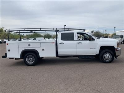 2018 Silverado 3500 Crew Cab DRW 4x2,  Service Body #K1191000A - photo 7