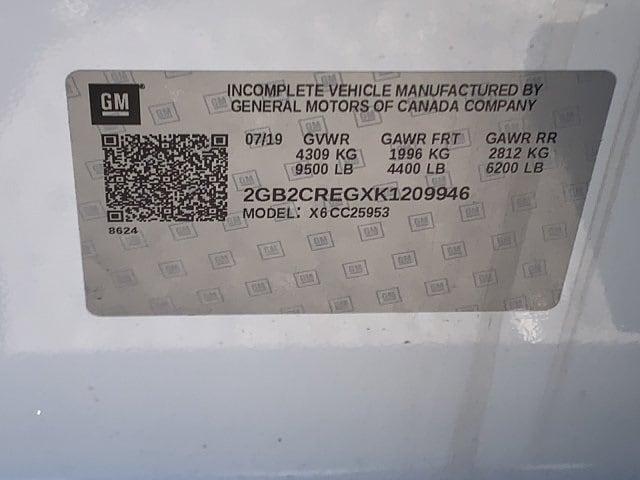 2019 Silverado 2500 Double Cab 4x2, Knapheide Steel Service Body #K1209946 - photo 26