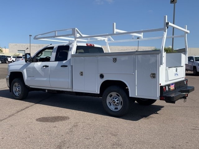 2019 Silverado 2500 Double Cab 4x2,  Harbor TradeMaster Service Body #K1211147 - photo 2