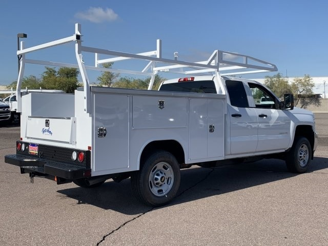2019 Silverado 2500 Double Cab 4x2,  Harbor TradeMaster Service Body #K1211147 - photo 6
