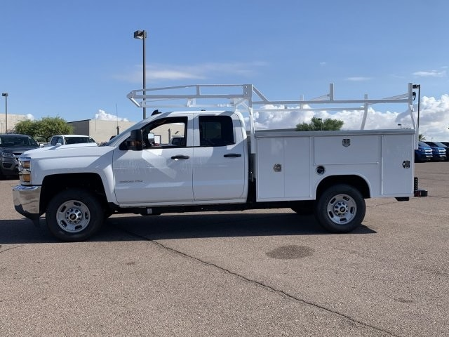 2019 Silverado 2500 Double Cab 4x2,  Harbor TradeMaster Service Body #K1211147 - photo 7