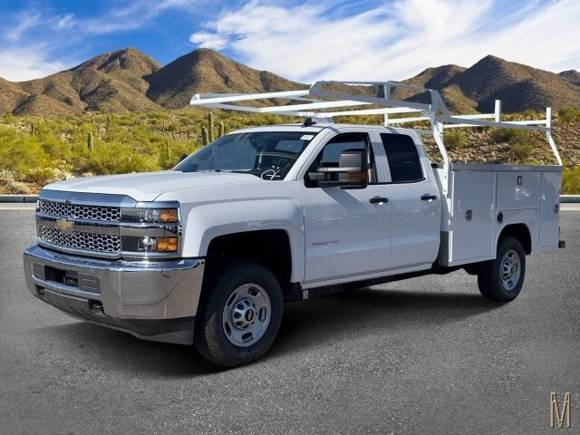 2019 Silverado 2500 Double Cab 4x2,  Harbor TradeMaster Service Body #K1211147 - photo 1