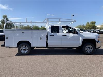 2019 Silverado 2500 Double Cab 4x2,  Harbor TradeMaster Service Body #K1211147 - photo 8