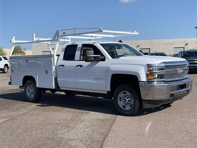 2019 Silverado 2500 Double Cab 4x2,  Harbor TradeMaster Service Body #K1211147 - photo 3
